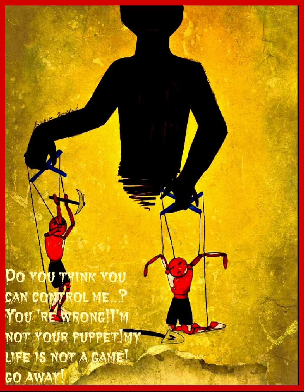 i am not your puppet the no project